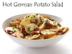 Oktoberfest Hot German Potato Salad