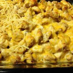 pasta chicken, easi chicken, chicken tetrazzini, tetrazzini allrecipescom