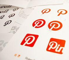 http://pinterestbutton.biz Bocetos del portfolio de Carlos Pag�n, uno de los dise�adores del logo de Pinterest Top