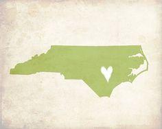 My Heart's in North Carolina