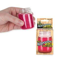Mini Moonshine Jar Shot Glass by Accoutrements, http://www.amazon.com/dp/B00B1E3UB0/ref=cm_sw_r_pi_dp_AKx5rb1ZQW9B1