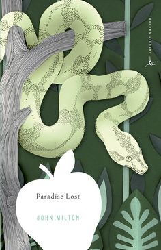Cover design by Emily Mahon for Paradise Lost by John Milton