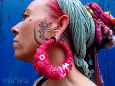 Lovely dermals and amazing hoops!!