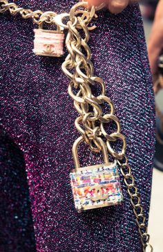 Lock it up. http://www.thecoveteur.com/chanel-springsummer-2015