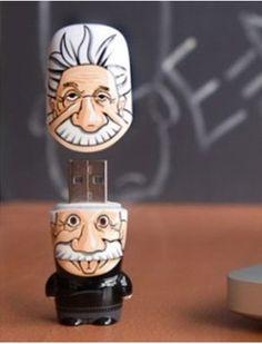 Einstein USB flash drive #USB #Einstein
