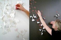 Homemade Wall Art Ideas | ... homemade wall art handmade decoration ideas homemade wall decor
