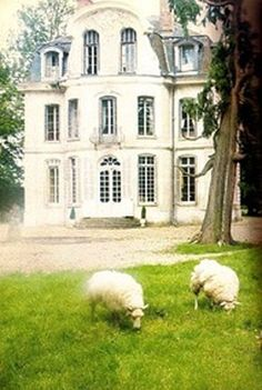 French Chateau in Normandy ~ Built in 1765.