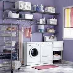 I wish I had a laundry room :(
