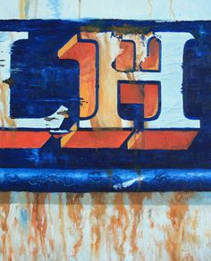 LH oil on canvas by Rich Johnson
