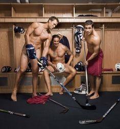 Ethan Moreau, Sheldon Souray, & Andrew Cogliano