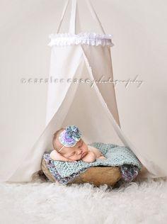 Newborn Canopy Prop...Baby Canopy...Photo Prop. $31.50, via Etsy.