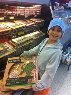 Marketside pizza at Walmart brings the lizard to life
