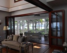 Traditional Folding Glass Wall System Design, Pictures, Remodel, Decor and Ideas