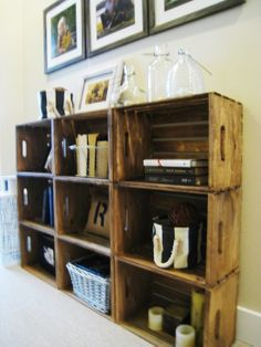 It is Bordeaux. These crates are not hard to find. Stack for partition and or headboard?