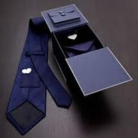 Long Distance Relationship Gift: Hidden Message Tie. Inside a little hidden pocket is a little hidden heart. No one has to know he's walking around with his girlfriend's heart so close to his. I love this gift because it's both classy and romantic. You can add an engraved message on the heart for an extra $6.95.
