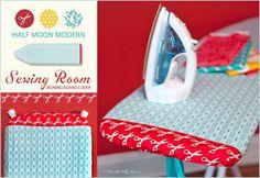 Moda's Half Moon Modern Sewing Room: Ironing Board Cover