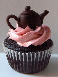 chocolate tea pot (: