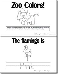 The zoo coloring books free printable
