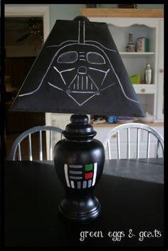 DIY Darth Vader Lamp