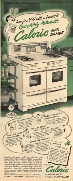 1952 caloric gas range 093.