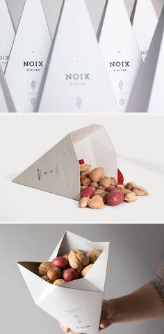 Design diferenciado de embalagem, e que também tem um toque especial de funcionalidade!  By Bucki
