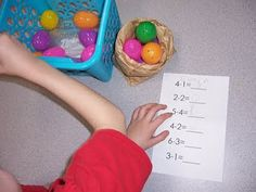 Subtraction Easter