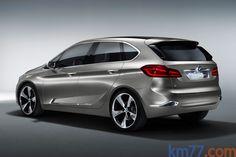 km77.com - BMW Concept Active Tourer Monovolumen Exterior Posterior-Lateral 5 puertas