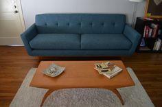 Nixon Sofa in Klein Azure