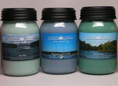 Hand Poured Soy Candles featuring CT River Photos. This order heading to Gracie's in Essex, Connecticut