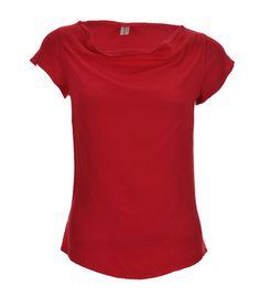 Handwritten Clothing cherry crepe t-shirt - £126    http://www.stanwells.com/just-arrived/handwritten-clothing-cherry-crepe-tee
