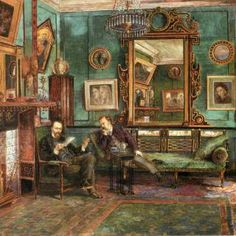 Just added gallery of Victorian Interiors to The Four Basics of Victorian Interior Design