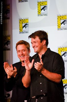 Firefly Panel at Comic Con 2012 by The.Erik.Estrada, via Flickr (10 year anniversary of Firefly)