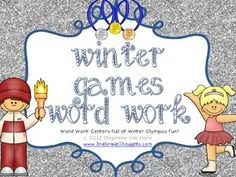 Winter Games Word Work - 3rd Grade Thoughts