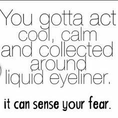 Hahah yea and sense ur laziness too!