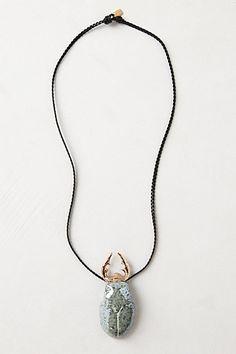 moss beetl, pendant necklac, pendants, beetl pendant, necklaces, jewelri, beetles