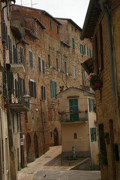 Balcony, Montepulciano