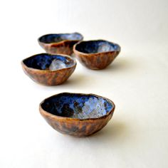 Lovely handmade ceramic bowls by GlazedOver - beautiful!