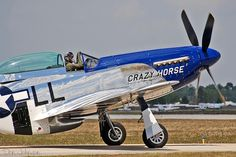 P-51 Mustang  Crazy Horse 2009 by Don Johnson 395