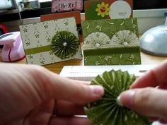 Paper Rosette Tutorial - Tim Holtz style (no die needed) - YouTube