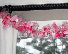 cute ribbon garland