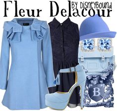 Fleur. (not sure why these are done by DisneyBound but the outfits are lovely)
