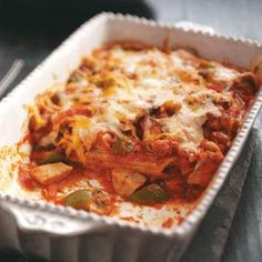 Chicken & Sausage Manicotti Recipe from Taste of Home -- shared by Fran Scott of Birmingham, Michigan