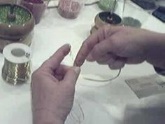 Tutorial Jahitan Manik : French Beading a Leaf Tutorial - Part 1 -    - http://maribelajarsulamanmanik.com/tutorial-jahitan-manik-french-beading-a-leaf-tutorial-part-1/