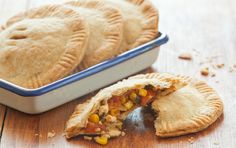 These+entrée-worthy+hand+pies+feature+summer's+seasonal+flavors.+Use+premade+pie+crust+dough+or+make+our+easy+Classic+Pie+Crust.+If+you+don't+have+a+5-inch+cookie+cutter,+use+a+small+bowl+or+make+smaller+pies.