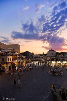 Hippocrates Square | Rhodes, Greece