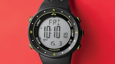 Axis-XT Highgear watch with compass altimeter barometer and thermometer