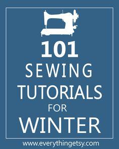 Sewing Tutorials - 101 Easy Sewing Tutorials