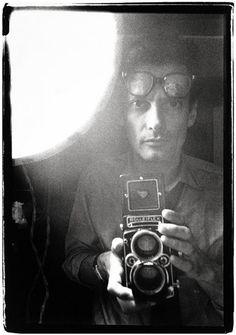 Richard Avedon, self portrait