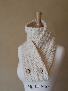 Quick & Thick Convertible Scarf ~ free pattern ᛡ