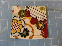 Fabric Coaster how to